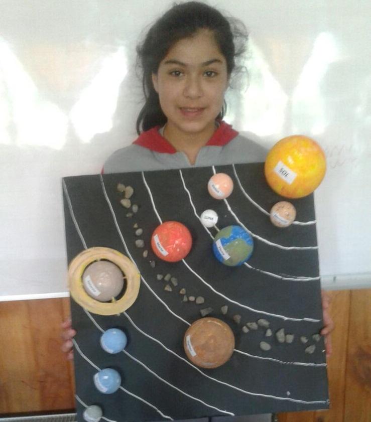 Maquetas Del Sistema Solar Escuela Nido De Cisnes